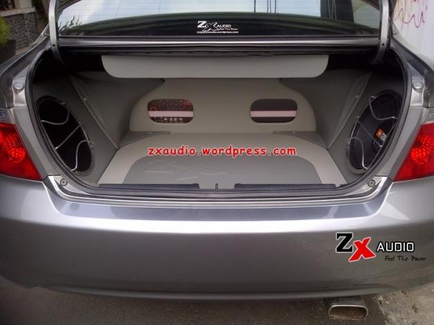 Pemasangan Power Amplifier Pada Mobil Honda City oleh ZX Audio Jakarta